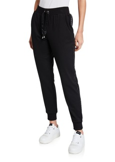 MICHAEL Michael Kors Logo Tape Pants