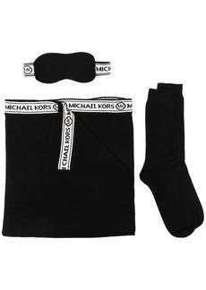 MICHAEL Michael Kors logo-tape travel accessory set