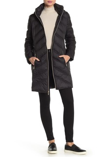 MICHAEL Michael Kors Long Down Parka Jacket