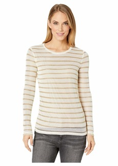 MICHAEL Michael Kors Long Sleeve Striped Top