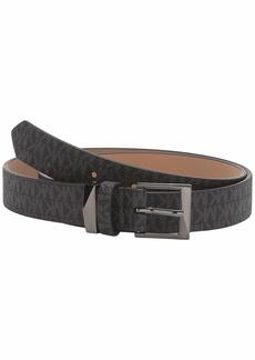 MICHAEL Michael Kors M Buckle Logo Belt