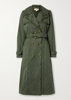 MICHAEL Michael Kors Madi Cotton-gabardine Trench Coat