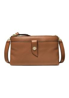 MICHAEL Michael Kors Medium Tab Leather Crossbody Bag