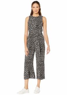 MICHAEL Michael Kors Mega Cheetah D-Ring Jumpsuit