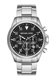 MICHAEL Michael Kors Men's 45mm Gage Chronograph Bracelet Watch