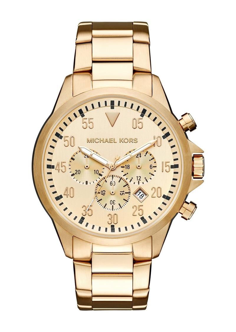 Michael Kors Men's Gage Bracelet Watch, 45mm