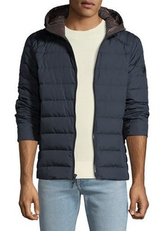 MICHAEL Michael Kors Men's Quilted Down-Fill Hooded Jacket