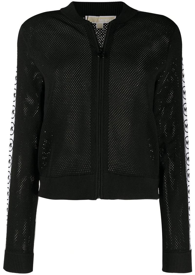 MICHAEL Michael Kors mesh-knit bomber jacket