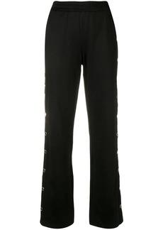 MICHAEL Michael Kors metallic button trousers