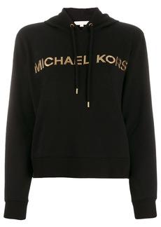 MICHAEL Michael Kors metallic logo hoodie