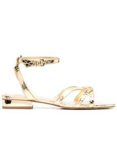 MICHAEL Michael Kors metallic strappy sandals