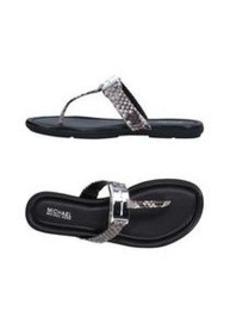 MICHAEL MICHAEL KORS - Flip flops