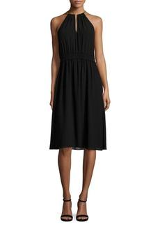 MICHAEL MICHAEL KORS A-Line Halter Dress