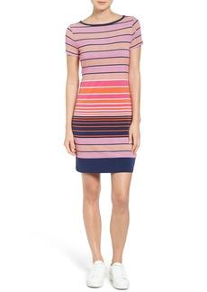 MICHAEL Michael Kors Abbey Stripe Boatneck Jersey Dress (Regular & Petite)
