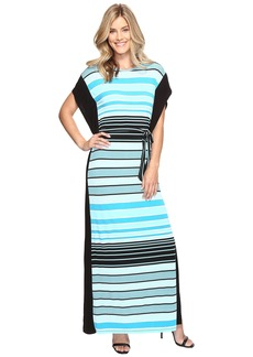 MICHAEL Michael Kors Abbey Stripe Maxi Dress