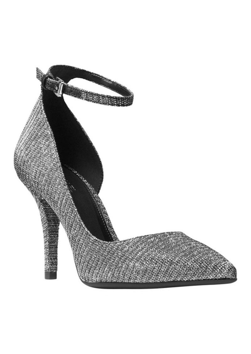 michael michael kors michael michael kors abbi flex ankle strap pumps shoes shop it to me. Black Bedroom Furniture Sets. Home Design Ideas