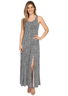 MICHAEL Michael Kors Abstract Maxi Dress