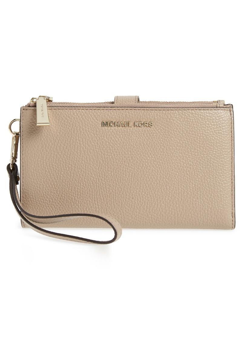 4452f63b0956 SALE! MICHAEL Michael Kors MICHAEL Michael Kors Adele Pebbled ...