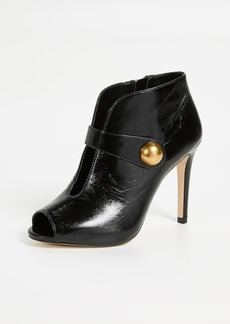 MICHAEL Michael Kors Agnes Open Toe Booties