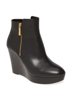 MICHAEL Michael Kors Alane Wedge Bootie (Women)