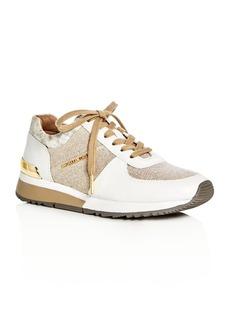 MICHAEL Michael Kors Allie Hemp Lace Up Sneakers