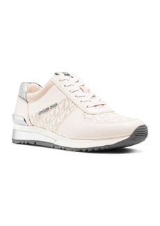 MICHAEL Michael Kors Allie Wrap Leather Lace Up Sneakers
