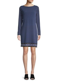MICHAEL Michael Kors Alston Long-Sleeve Dress