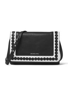 MICHAEL MICHAEL KORS Analise Medium Leather Messenger Bag