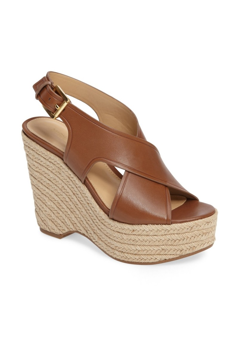 MICHAEL Michael Kors Angeline Espadrille Platform Sandal (Women)