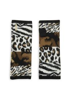 MICHAEL Michael Kors Animal Patchwork Gloves