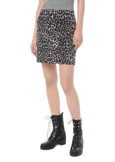 MICHAEL Michael Kors Animal-Print Mini Skirt
