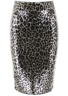 MICHAEL Michael Kors Animalier Sequins Skirt