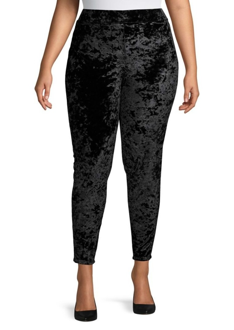 MICHAEL Michael Kors Plus Ankle-Length Velvet Leggings