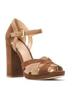 MICHAEL MICHAEL KORS Annaliese Suede Platform Sandals
