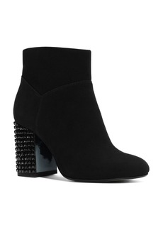 MICHAEL Michael Kors Arabella Embellished Block Heel Booties