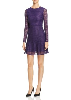 MICHAEL Michael Kors Arabesque Floral Lace Dress