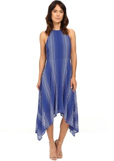 MICHAEL Michael Kors Arailia Dot Hi Lo Dress