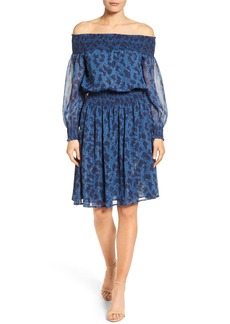 MICHAEL Michael Kors Arbor Off the Shoulder Dress (Regular & Petite)
