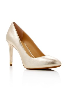 MICHAEL Michael Kors Ashby Metallic Flex Pumps