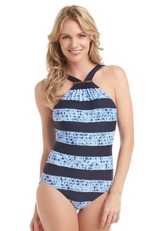MICHAEL Michael Kors® Ashton High Neck Maillot One Piece