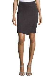 MICHAEL Michael Kors Asymmetric Wrap Pencil Skirt