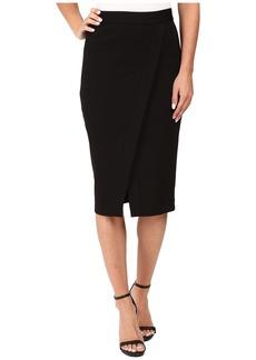 MICHAEL Michael Kors Asymmetrical Faux-Wrap Skirt