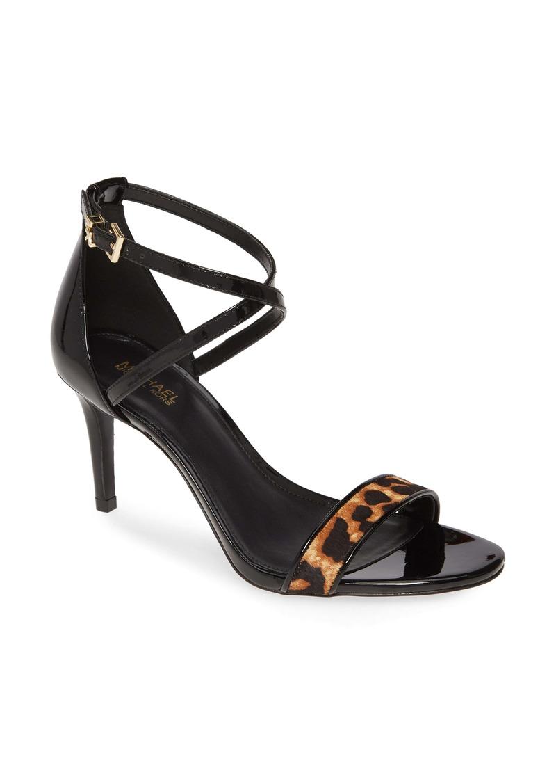 MICHAEL Michael Kors Ava Genuine Calf Hair Strappy Sandal (Women)