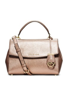 MICHAEL MICHAEL KORS Ava Leather Satchel