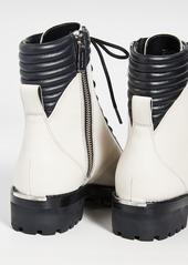 MICHAEL Michael Kors Bastian Combat Boots