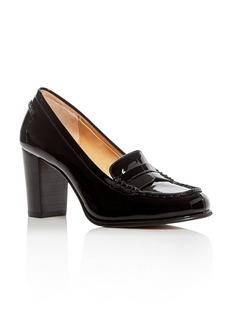 MICHAEL Michael Kors Bayville High Heel Penny Loafers