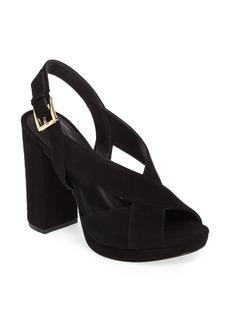 MICHAEL Michael Kors Becky Cross Strap Sandal (Women)