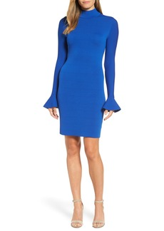 MICHAEL Michael Kors Bell Sleeve Body-Con Dress