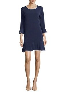 MICHAEL Michael Kors Bell-Sleeve Dress