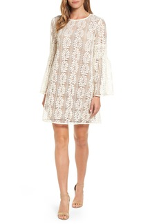 MICHAEL Michael Kors Bell Sleeve Lace Shift Dress